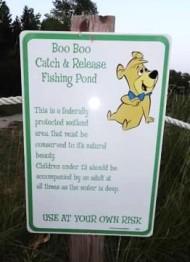 Booboos pond