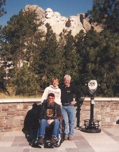 Roger and Corrine Mount Rushmore