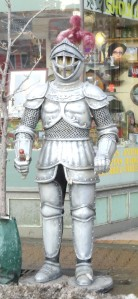 Random suit of armor?