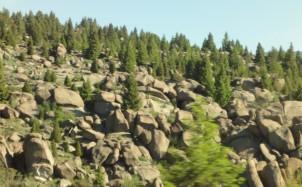 Butte scenery