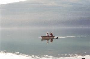 Row your boat - Lk Koocanusa