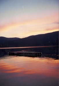 Lake Koocanusa dock