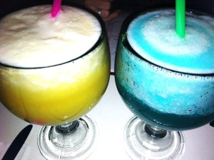 Mango Margarita and...something blue