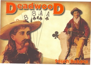 Deadwood postcard