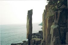 Balancing Rock of Digby Neck