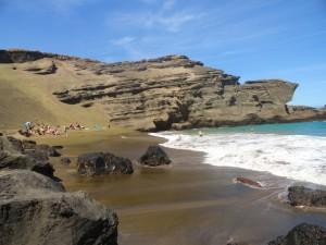 Green Sand Beach 1