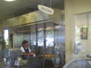Malasadas freshly made