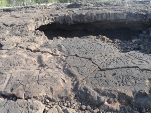 Petroglyphs and Shelter